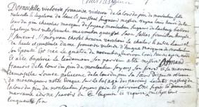 Baptême de Dlle Françoise-Victoire de La Tour Du Pin Montauban