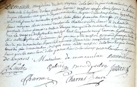 Baptême de Magdeleine-Victoire-Reynée de La Tour Du Pin Montauban