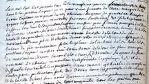 Mariage de Magdeleine-Angélique de La Tour avec Pierre-Paul Clerc de Ladeveze 1/4