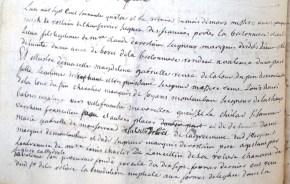 Mariage de Magdeleine de La Tour Du Pin, avec Annet de Champferrier 1/2