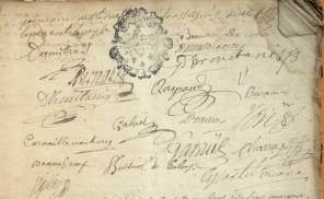 Mariage entre Jeanne De Bernard-Lacroix et François Dermitanis (De Reillane) 2/2