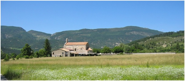 Le prieuré et l'église Notre-Dame de Calma dite aussi N.D. de l'Assomption