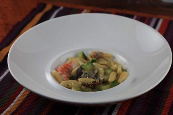 cavatelli con zucchine e vongole