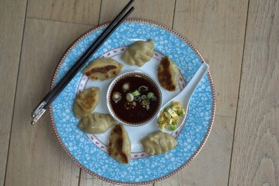 jiaozi au curry