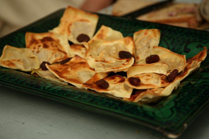 """Kuskenole"" (raviolis aux fruits)"