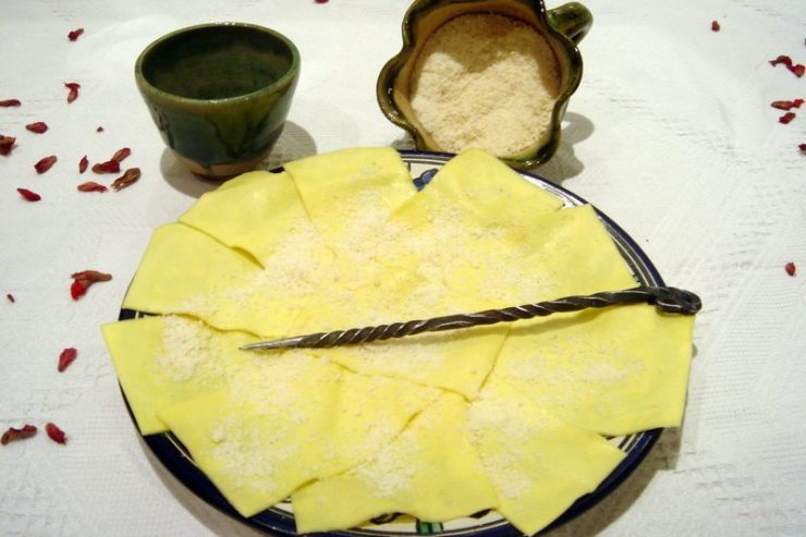 lasagne al formaggio