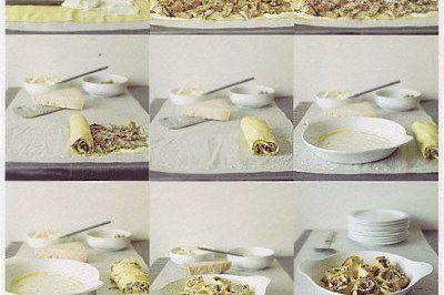 lasagne aux artichauts