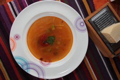 minestra con l'arzilla