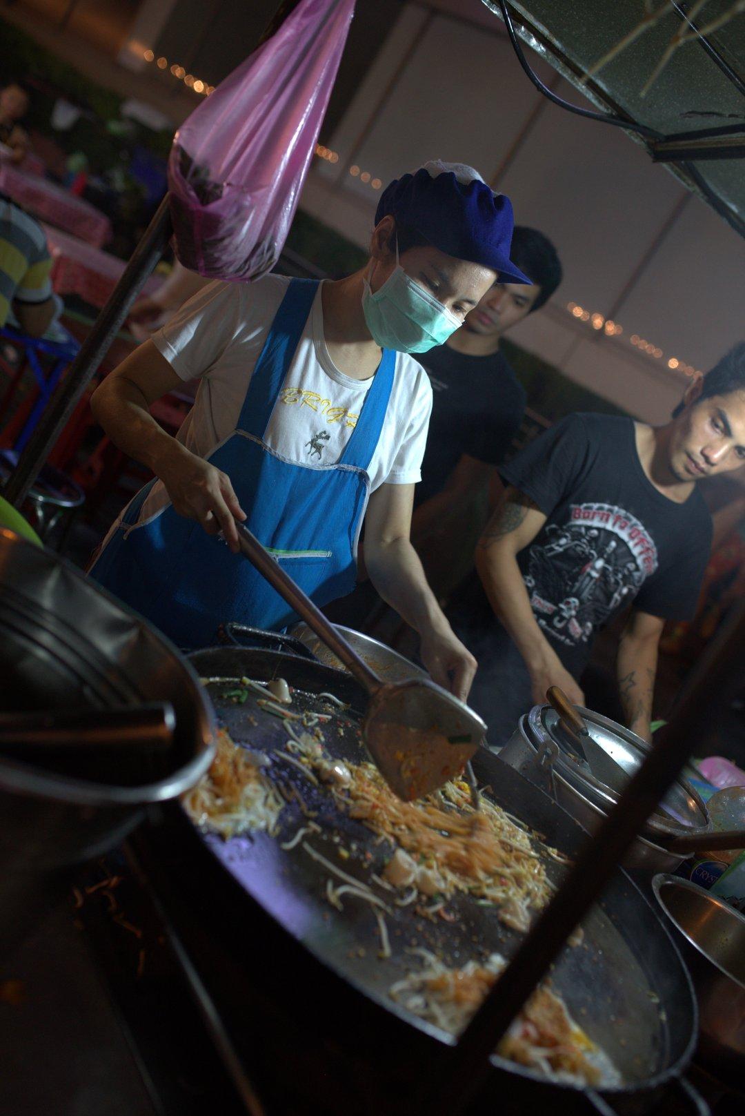 pat thai - Bangkok street food