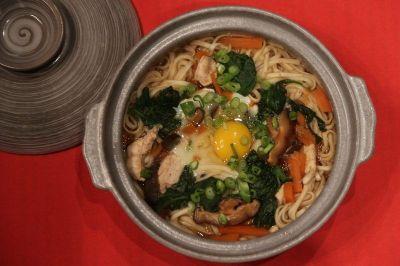 soupe de nouilles udon