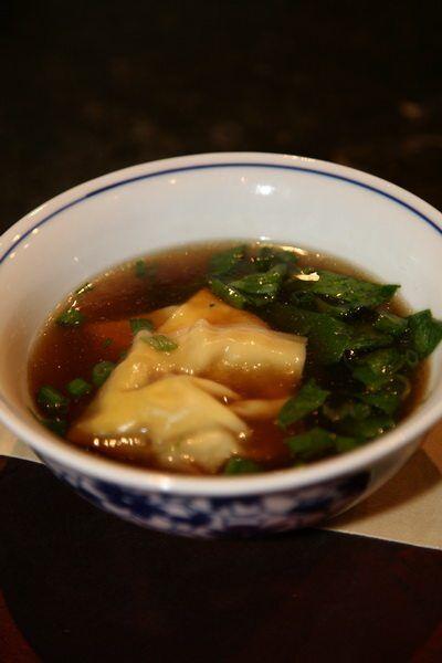 Soupe aux wonton