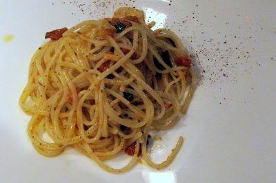 spaghettis aux oursins