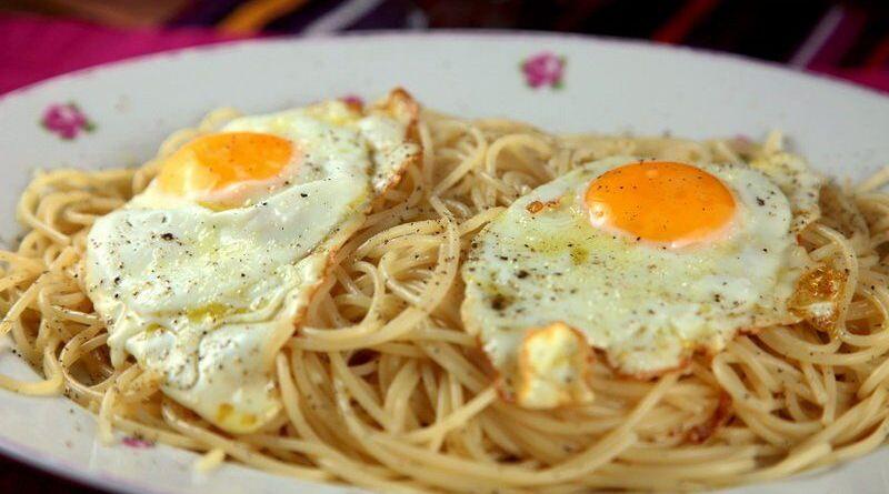 Spaghettis du pauvre
