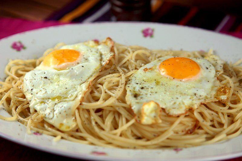 Spaghetti alla poveruomo