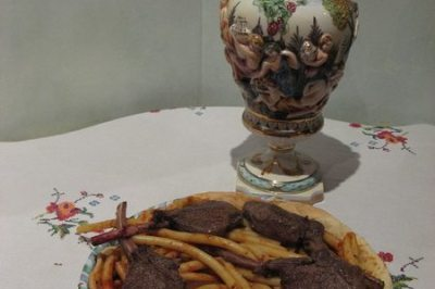 timbale de chevreuil