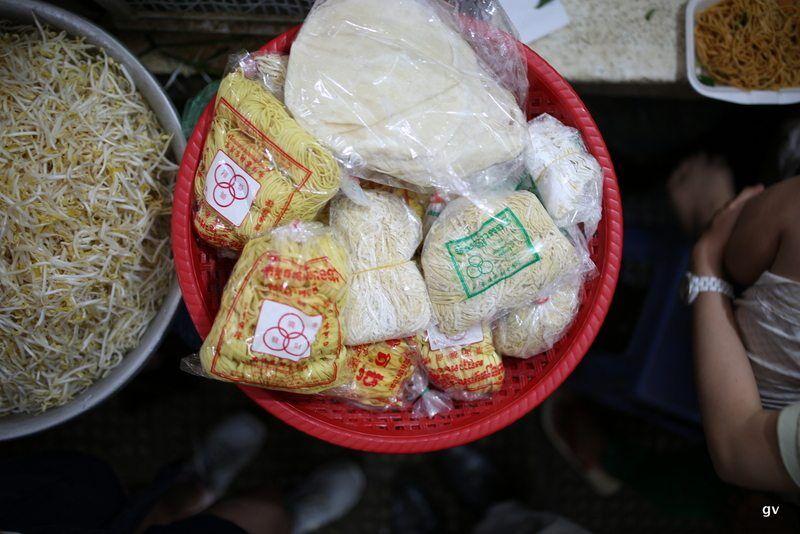 nouilles de blé Cambodge
