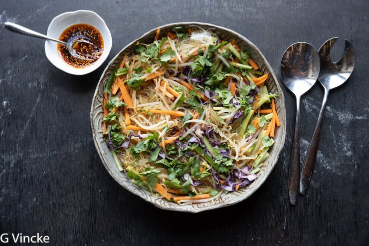 salade de nouilles à la façon de Dongbei