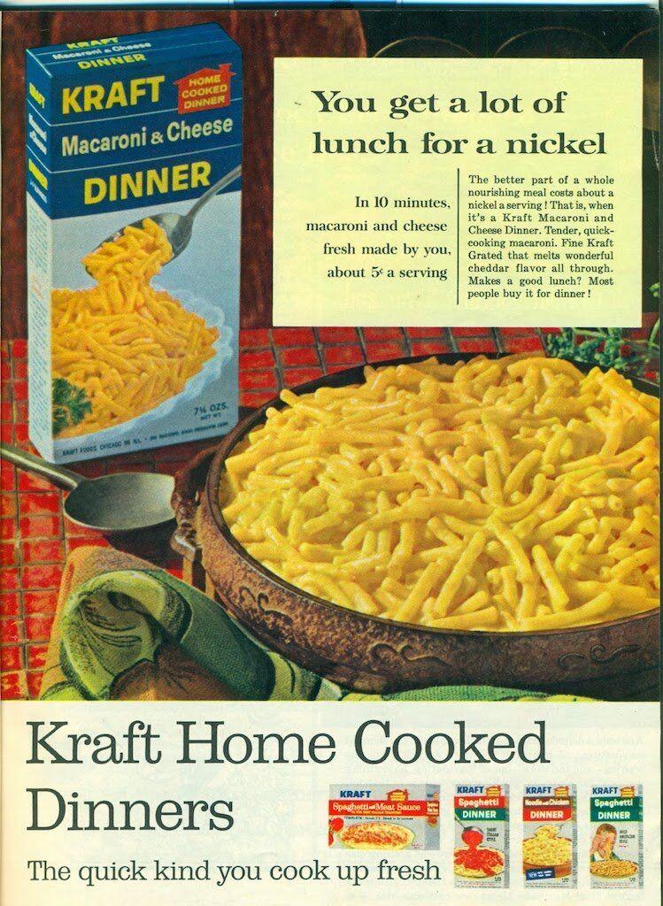 Kraft mac and cheese 65