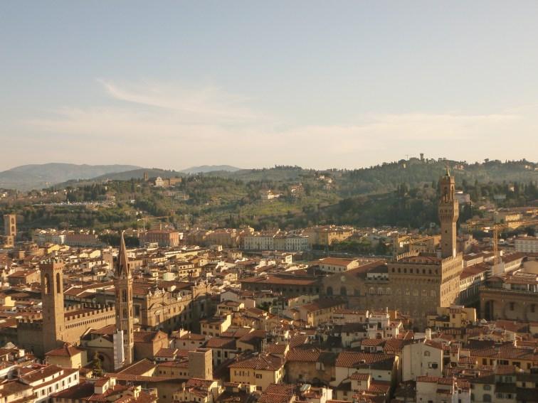 Palazzo Vecchio vu du Campanile