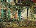 La maison du peintre par Frederik Carl Frieseke (1912)