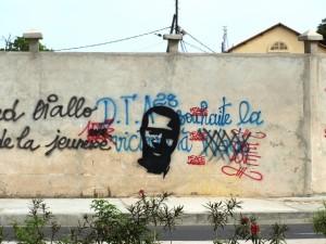 Expression murale à Dakar. Crédits : Pascal Scallon-Chouinard