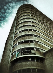 Le bâtiment de la FTQ à Montréal. Crédits : Andre Vandal, AV Dezign (Flickr).