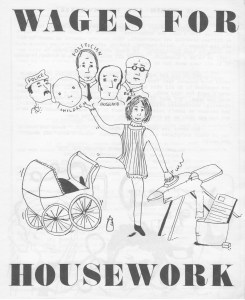 Brochure du Toronto Wages for Housework Committee, s.d. (Archives personnelles)