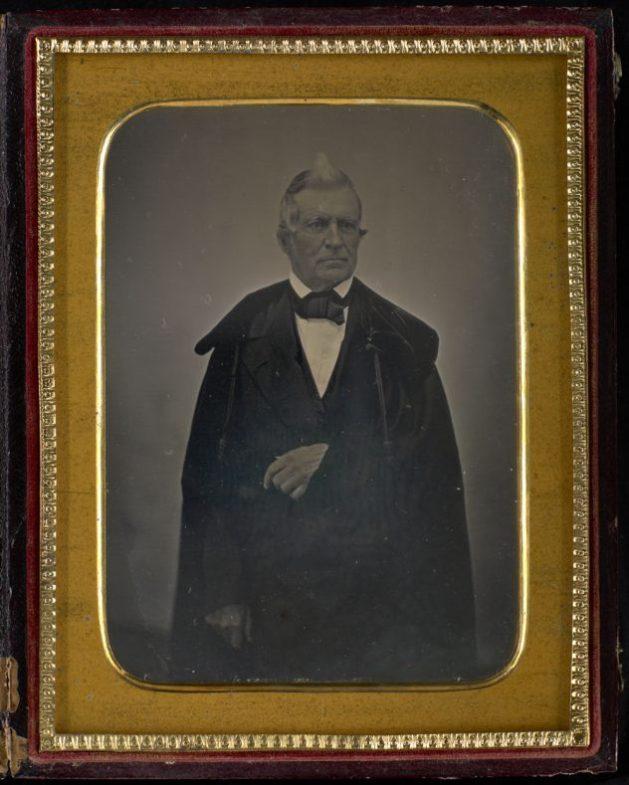 Louis-Joseph Papineau vers 1852. Photographie attribuée à T.C. Doane. Bibliothèque et Archives Canada, e011154378_s2.