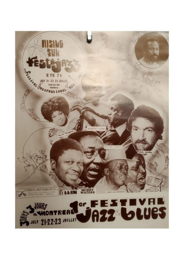 Affiche du FestiJazz 1978