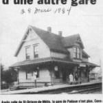 Une autre garde disparue, paru dans le journal L'information du 28 mars 1984