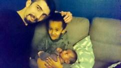 papa famille mixte