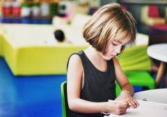 écriture enfant
