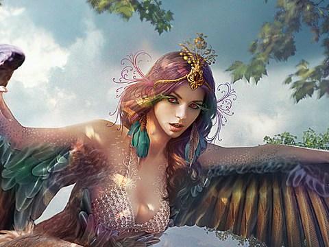 sirène mythologie grecque