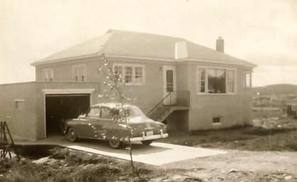 La famille de Lysette a vécu dans plusieurs maisons à Sudbury —rue Montagne, Moulin à fleur, rue Régent, boul. LaSalle (photo) et rue Lavoie.