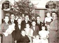 Photo de famille vers 1955