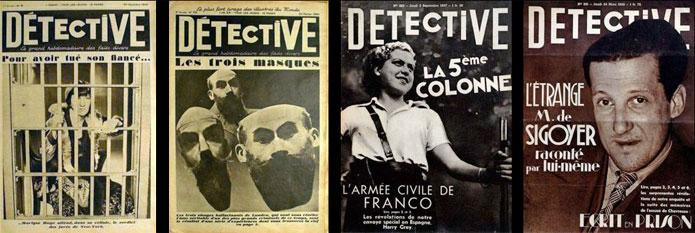"""Résultat de recherche d'images pour """"Détective (journal)"""""""