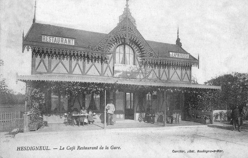 Restaurant Cafe De Lhomme