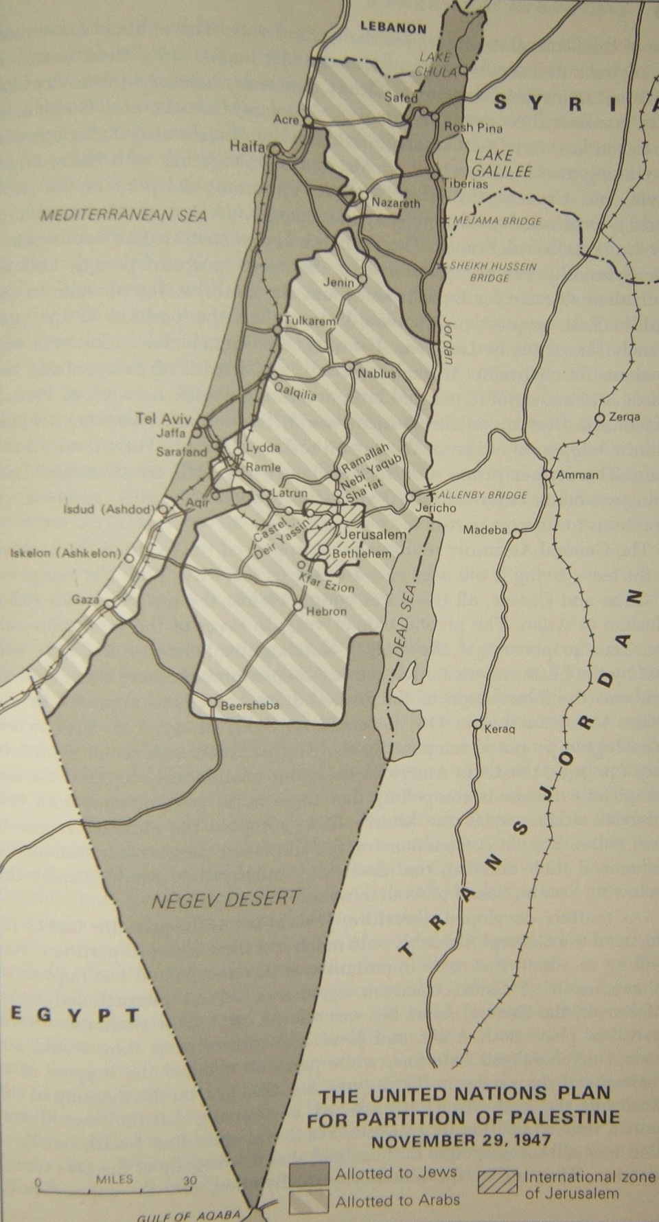1948 Israel 14 Map May