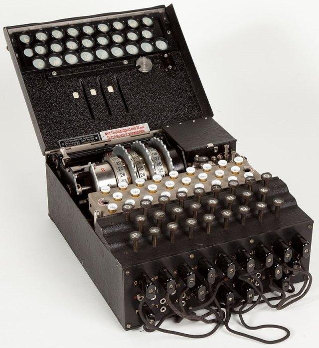 Este es el aspecto que tenía Enigma. El ejemplar de la imagen se conserva en el Museo Nacional de la Ciencia y la Tecnología Leonardo da Vinci, Milán.