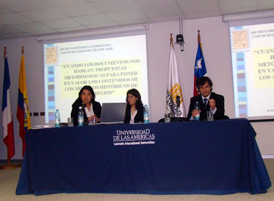 archivo exponiendo en universidad de las americas 2008