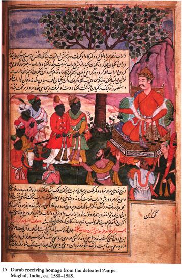"""Los """"Zanj"""", los negros esclavizados que se rebelaron contra el califato abasí de Bagdad (869 – 883 d.C.)"""