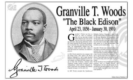 Inventores negros, Granville T. Woods y el teléfono