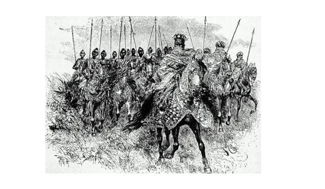 La caballería de los estados Mossi