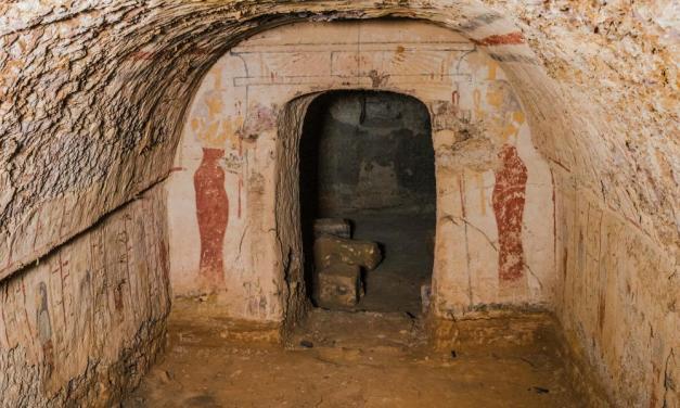 Acceden a una tumba meroítica por primera vez en casi 100 años