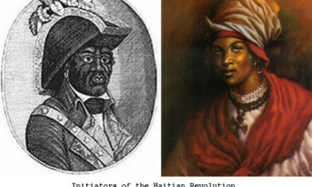 La revolución haitiana, Bookman, Cécile Fatiman y la ceremonia  de Bois-Caimán