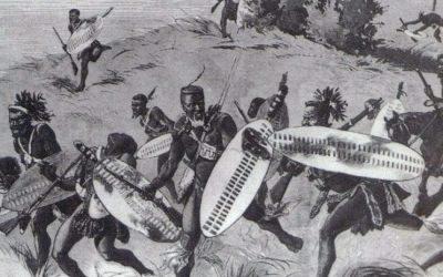 En la batalla Isandlwana, los zulúes derrotaron el Imperio británico.