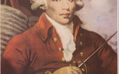 "Joseph de Boullongne conocido como ""le Chevalier de Saint-George"""