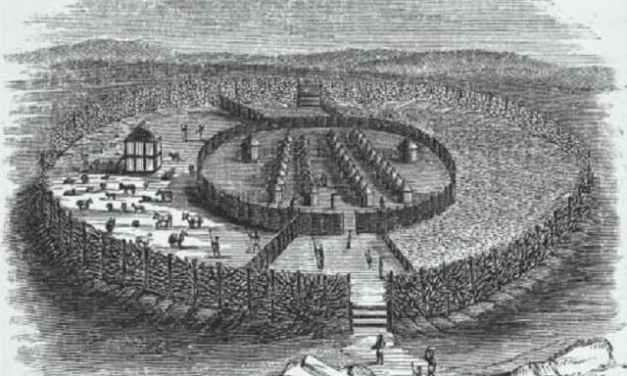 El maravilloso muro de Benin destruido por los britanicos