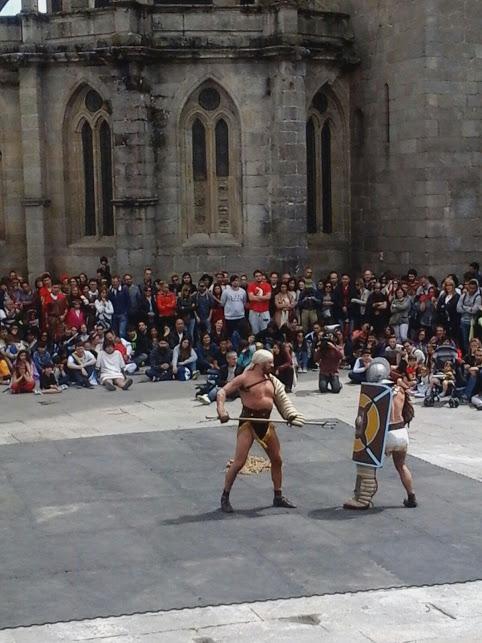Loita de gladiadores no Arde Lucus / Xurxo Salgado