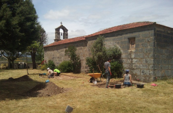 Inicio das escavacións na necrópole de Medeiros ( Monterrei) / Uvigo